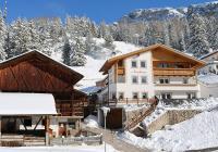 Inverno al maso Neuhaus a Selva di Val Gardena