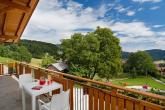 Pichlerhof - Ferienwohnung Balkon mit Ausblick