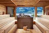 Sauna mit Ausblick 90 °C