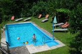 Gasthof Tiefenbrunn ** - Schwimmbad