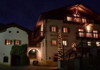 Doppelbettzimmer Mayerhof in Kuens bei Meran