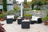 Garni Meranblick - Giardino con comoda lounge