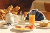 Pensione Alpenland - ricco buffet di prima colazione