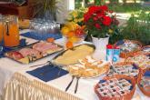 Frühstückspension Alpenland - Frühstücksraum