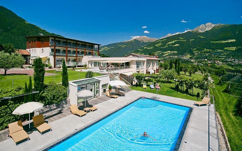 Ferienwohnung Südtirol Pool 2 Schlafzimmer