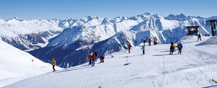Skigebiet Haideralm im Obervinschgau