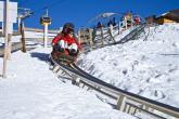 Der Alpin Bob in Meran 2ooo ist auch im Sommer in Betrieb