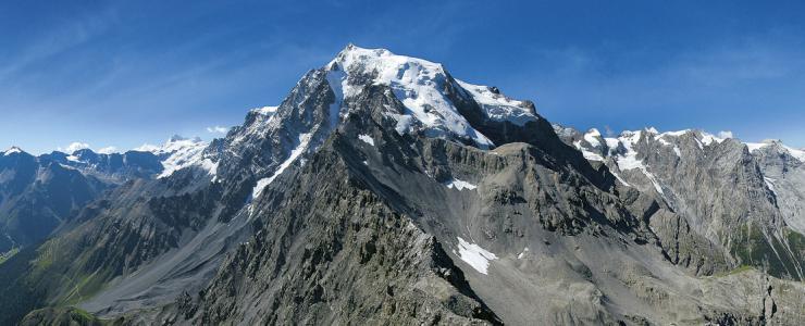 Der Ortler, 3905m, der höchster Berg in Südtirol