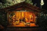 Christmas Market Bolzano, Nativity scene