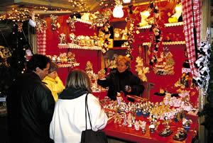 Südtiroler Kunsthandwerk am Meraner Weihnachtsmarkt